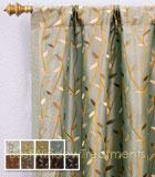 Bonzai Curtain Panel available in 9 colors