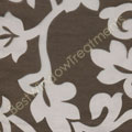 Palazzo Scroll Chocolate Swatch