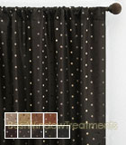 Aztec Polka-Dot Curtain Panel available in 9 colors