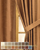 Casanova Curtain Panel available in 17 colors