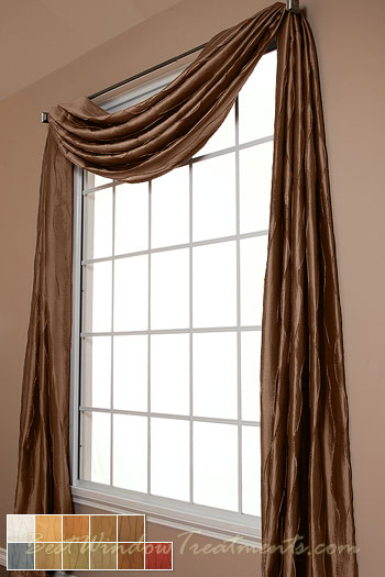 Dolce Scarf Swag Window Topper Bestwindowtreatments Com