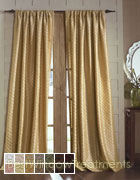 Hampstead Curtain Panel available in 14 colors