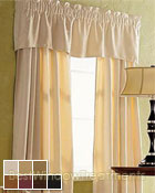 Luxor Curtain Panel available in 7 colors