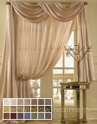 Silkanza Curtain Panel available in 21 colors