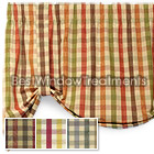 Mattie's Plaid Tie Up Valance