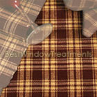 Burgundy Picnic Plaid Placemat