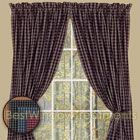 Williamsburg Plaid Curtain Panels available in Colonial Blue