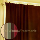 Ultimate Black-Out Double-Wide Curtain Panels in Putty, Sand, Sage, Espresso and Garnet