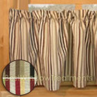Celebration Stripe Valance in 2 color options