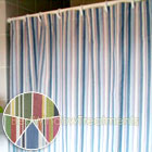 Cottage Stripe Shower Curtain available in 4 colors