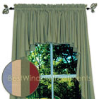 Ultra Fullness Glasgow Swag Curtains in Blue, Harvest, Moss and Pomegranate