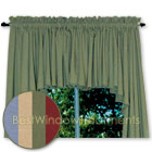 Ultra Fullness Glasgow Valance available in 4 color choices