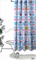 On The Spot Shower Curtain
