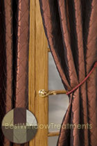 Aladdin Curtain Panel available in 6 colors