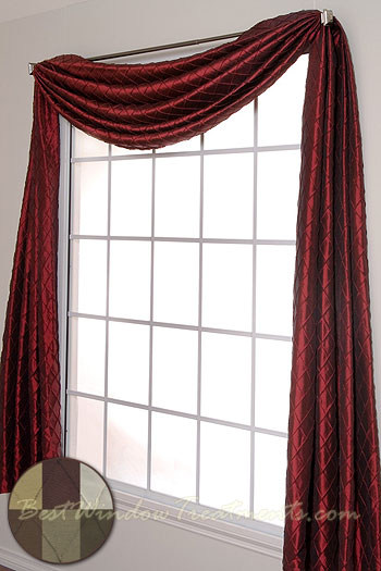 scarf swag window topper bestwindowtreatments