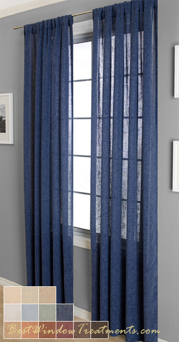 Beautiful Blue Curtains | Window Curtains Online