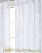 Blaise voile Curtain Panel available in 2 colors
