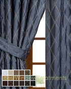 Casa Del Mar Curtain Panel available in 17 colors