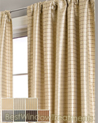 Cavalli Circle Curtain Panel available in 7 colors