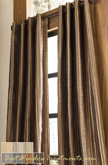 Cavalli Batik Curtain Panel available in 7 colors