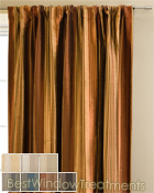 Cavalli Stripe Curtain Panel available in 7 colors