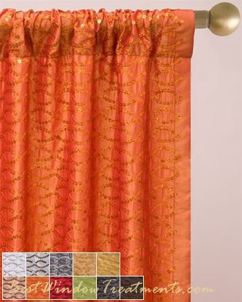 Swags - Swag Curtain - Window Swags - Swag Window Treatment