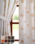 Cirque Curtain Panel available in 15 colors