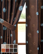 Cirque Curtain Panel available in 15 color choices