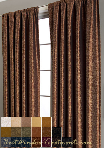 Contessa Curtain Drapery Panels Bestwindowtreatments Com