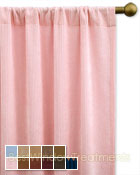 Cordova Curtain Panel available in 10 colors