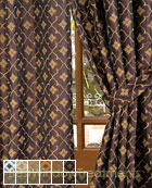 Cuffaro Curtain Panel available in 13 color choices