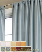 Delano Solid Curtain Panel available in 11 colors