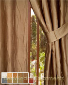 Dolce Curtain Panel available in 11 colors