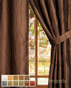 Dolce Curtain Panel available in 11 color choices