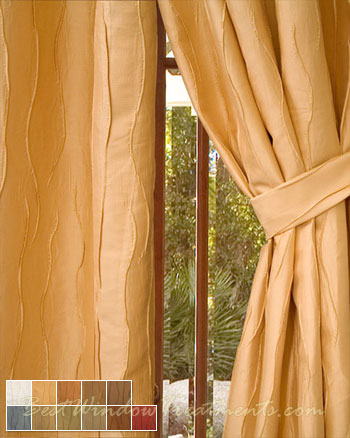 Dolce Curtain Panel in 11 colors