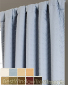 Envy Curtain Panel available in 9 colors