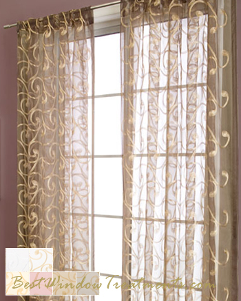 Gold Sheer Curtains Curtains Amp Blinds