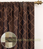 Paramount Curtain Panel available in 11 colors