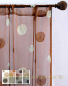 Soleil Sheer Curtain Panel available in 8 colors