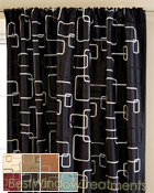 Strada Square Scarf Swag Window Topper available in 7 colors