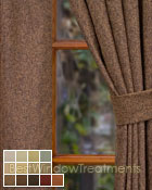 Sutra Curtain Panel available in 13 colors