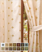 Truzzi Curtain Panel in 14 choices