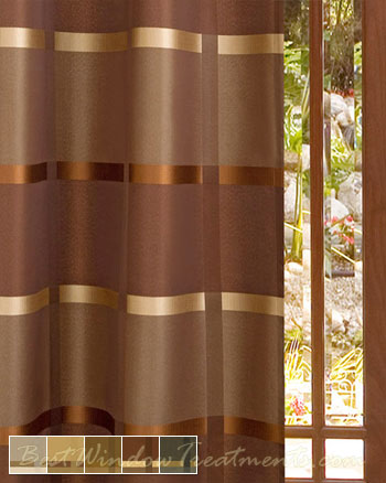 Amore Curtain Panel available in 5 color choices