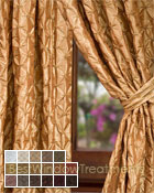 Zenith Curtain Panel available in 17 colors