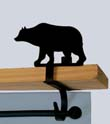 Bear Curtain Shelf Bracket