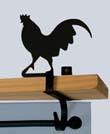 Rooster Curtain Shelf Bracket