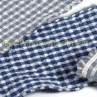 Classic Checks Blue Runner (set of two)