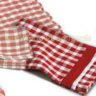 Classic Checks Red Dish Cloth & Towel Combo