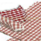 Classic Checks Red Pot Holder (set of six)
