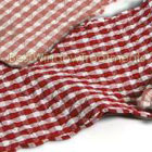 Classic Checks Red Runner (set of two)